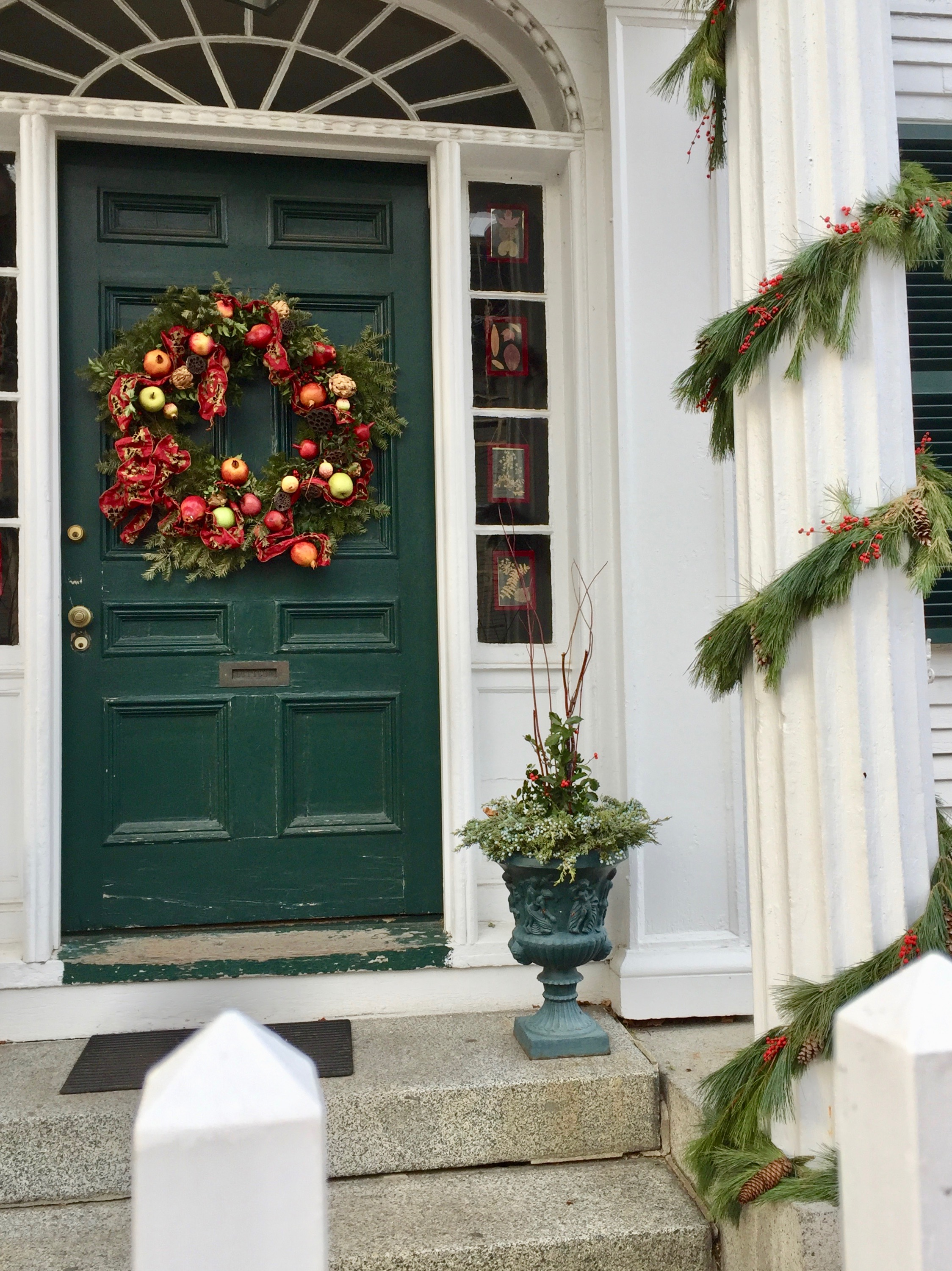 Christmas Wreath ideas from New England - portsmouth nh 8.jpg
