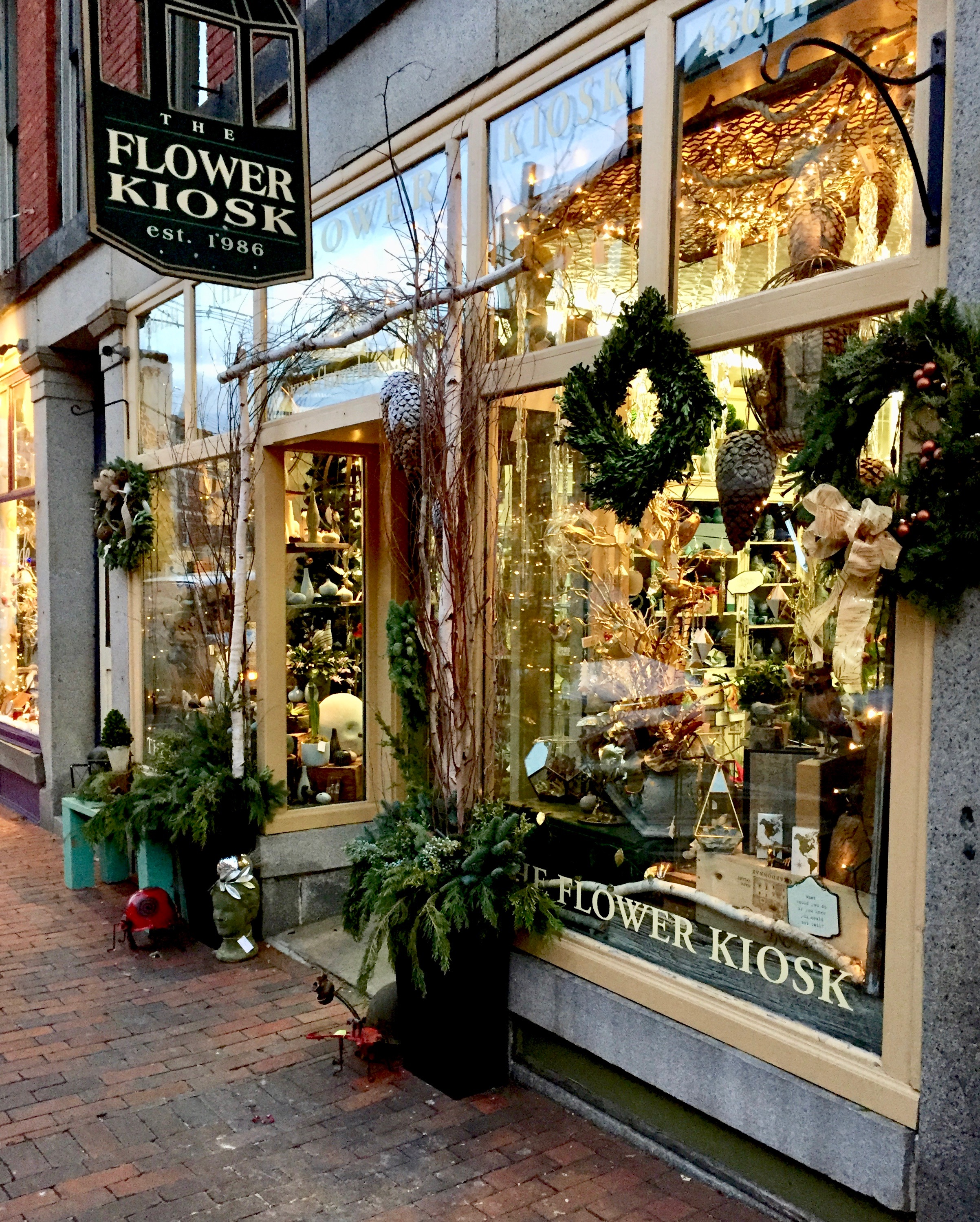 Christmas in downtown Portsmouth New Hampshire New England Fine Living .jpg