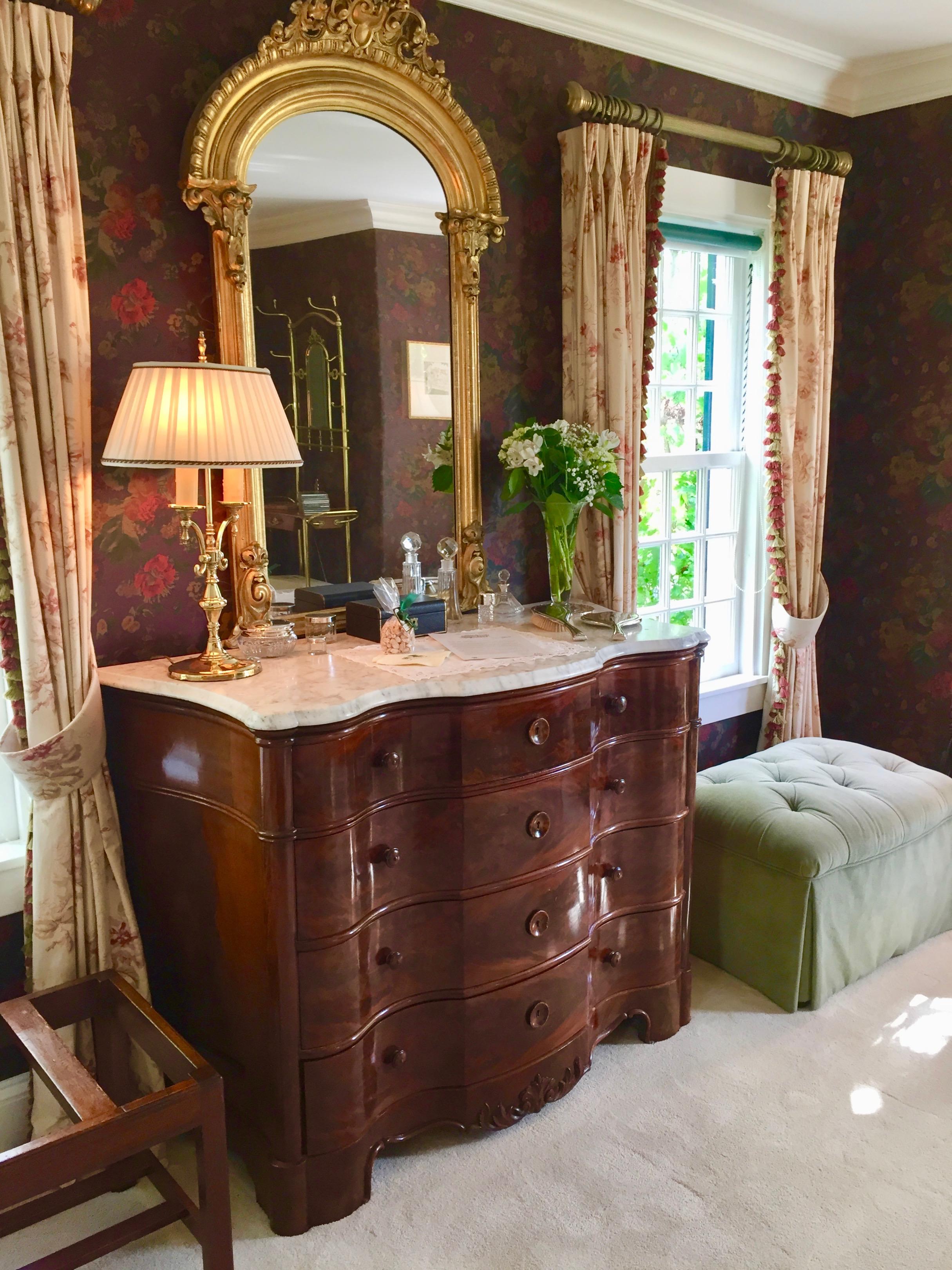 Charlotte Inn Bedroom New England Fine Living