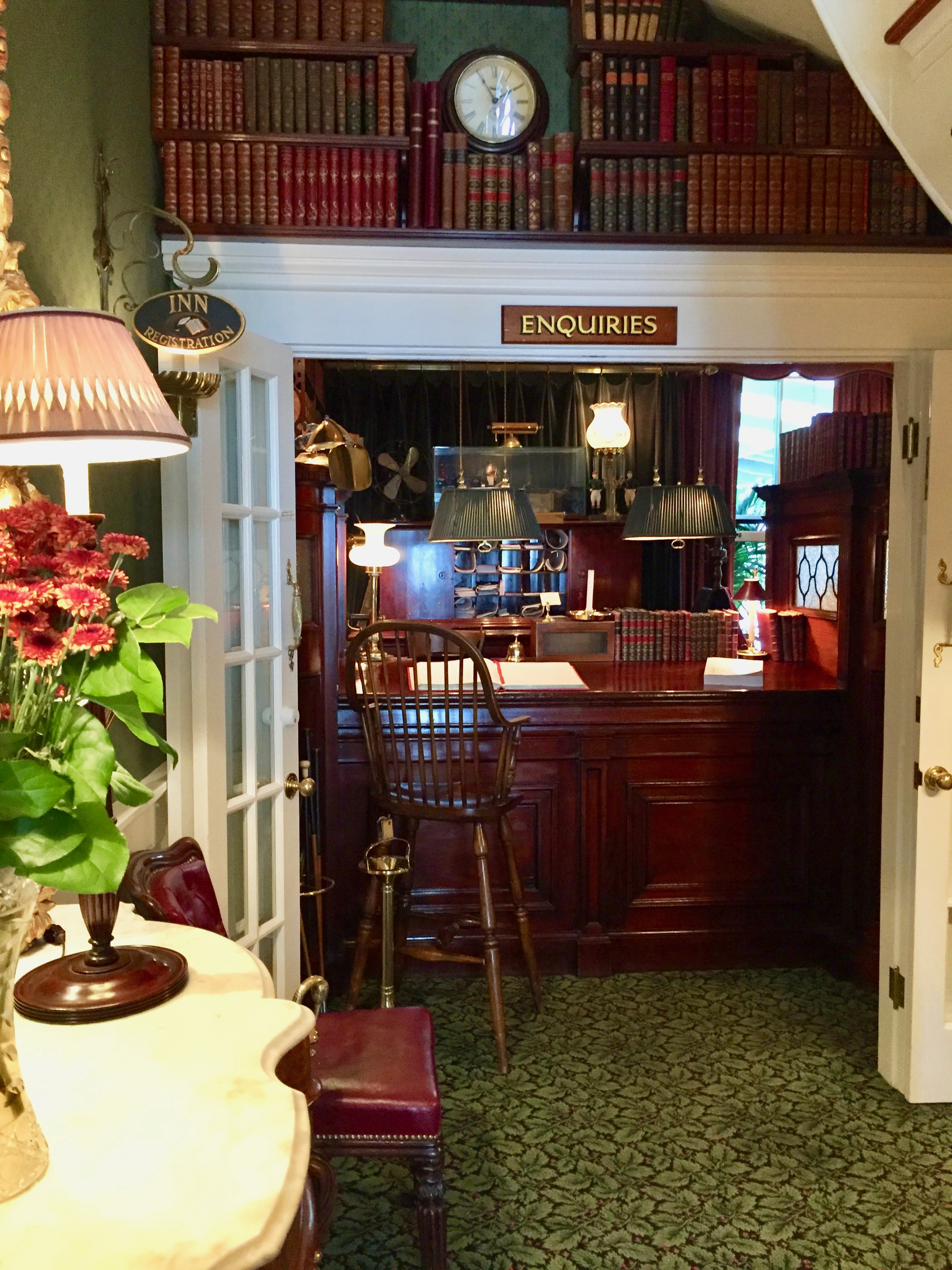 Charlotte Inn visit with New England Fine Living