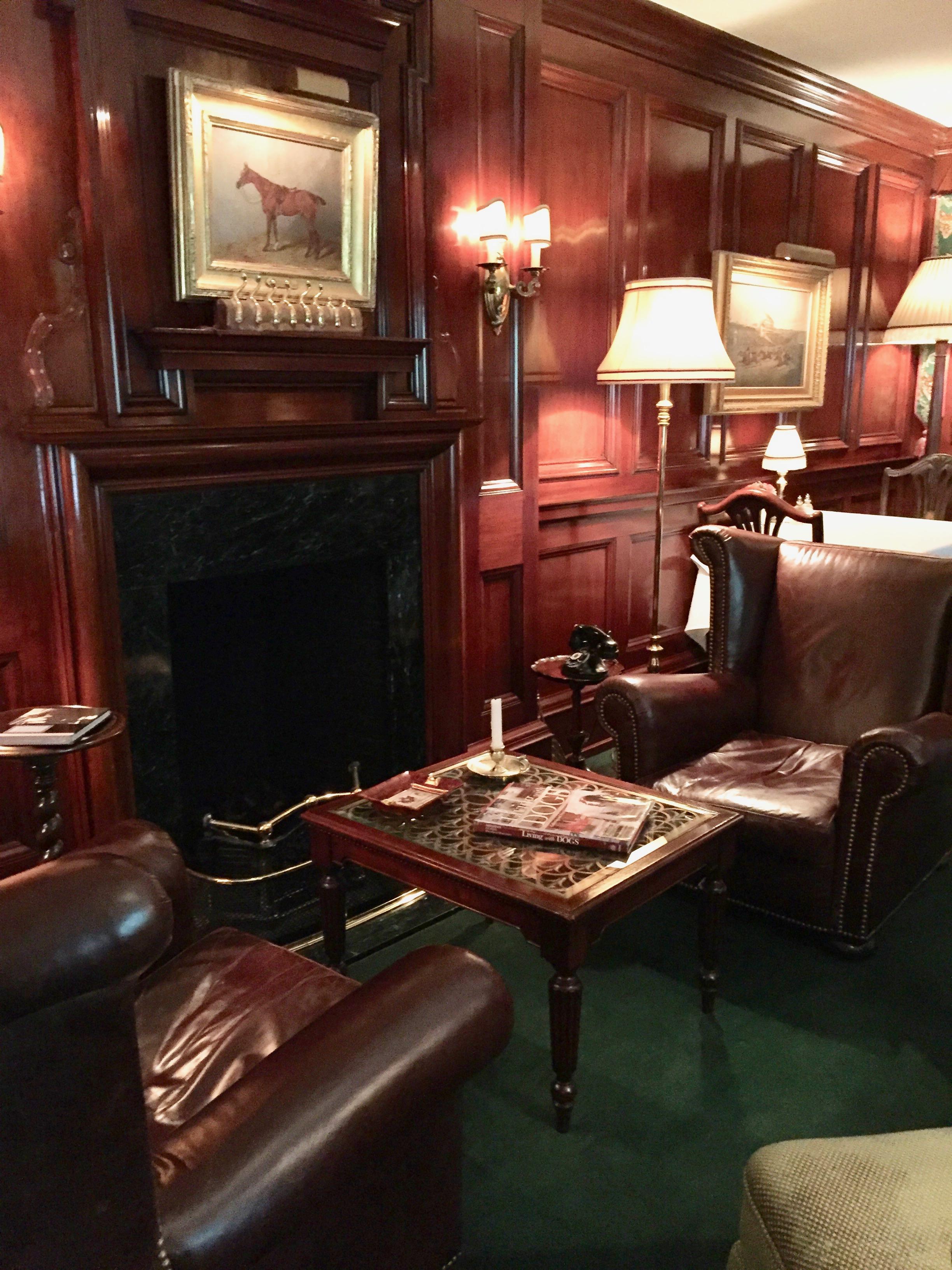 The Charlotte Inn Sitting Room New England Fine Living