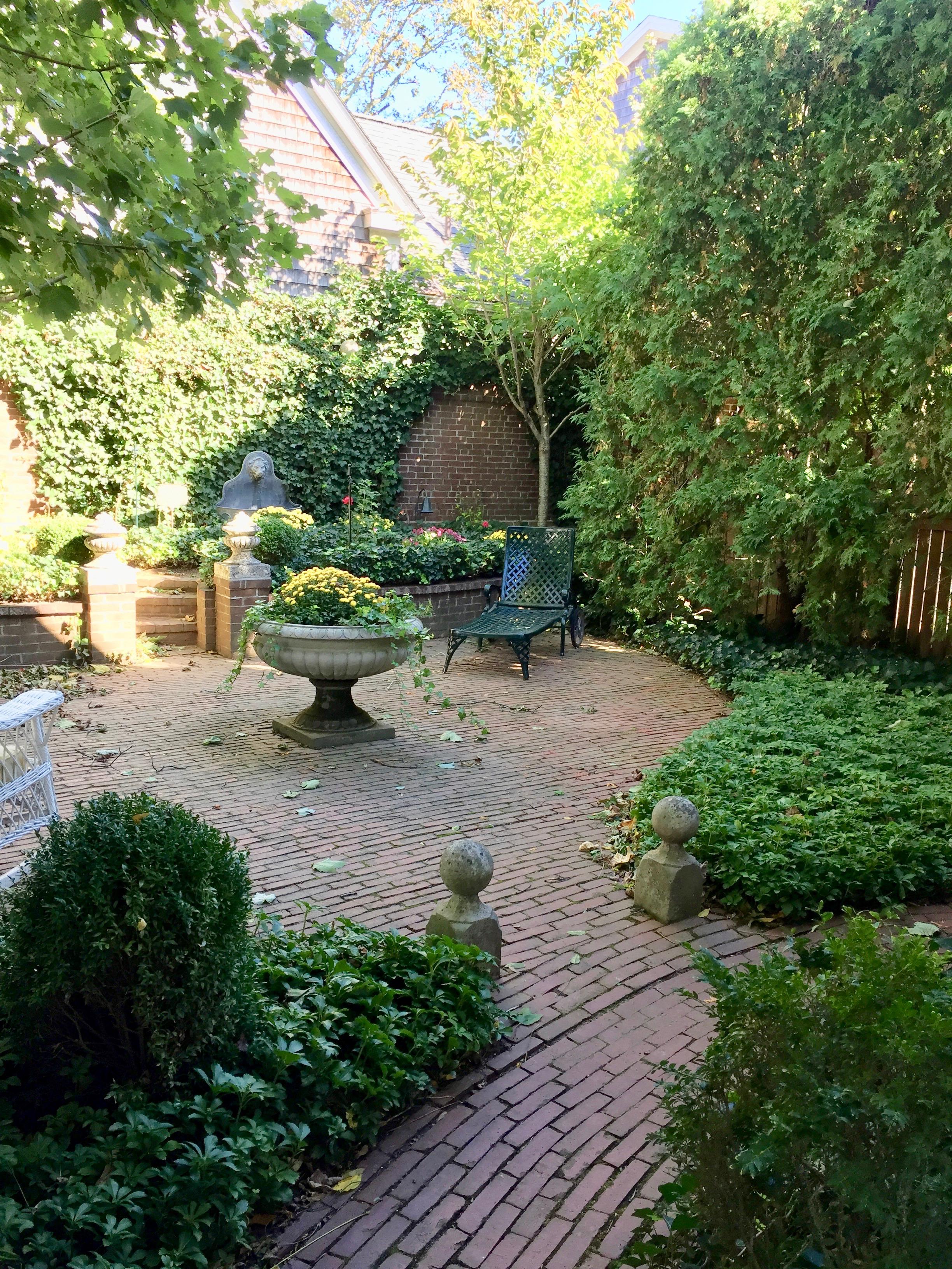 Gardens at the Charlotte Inn New England Fine Living