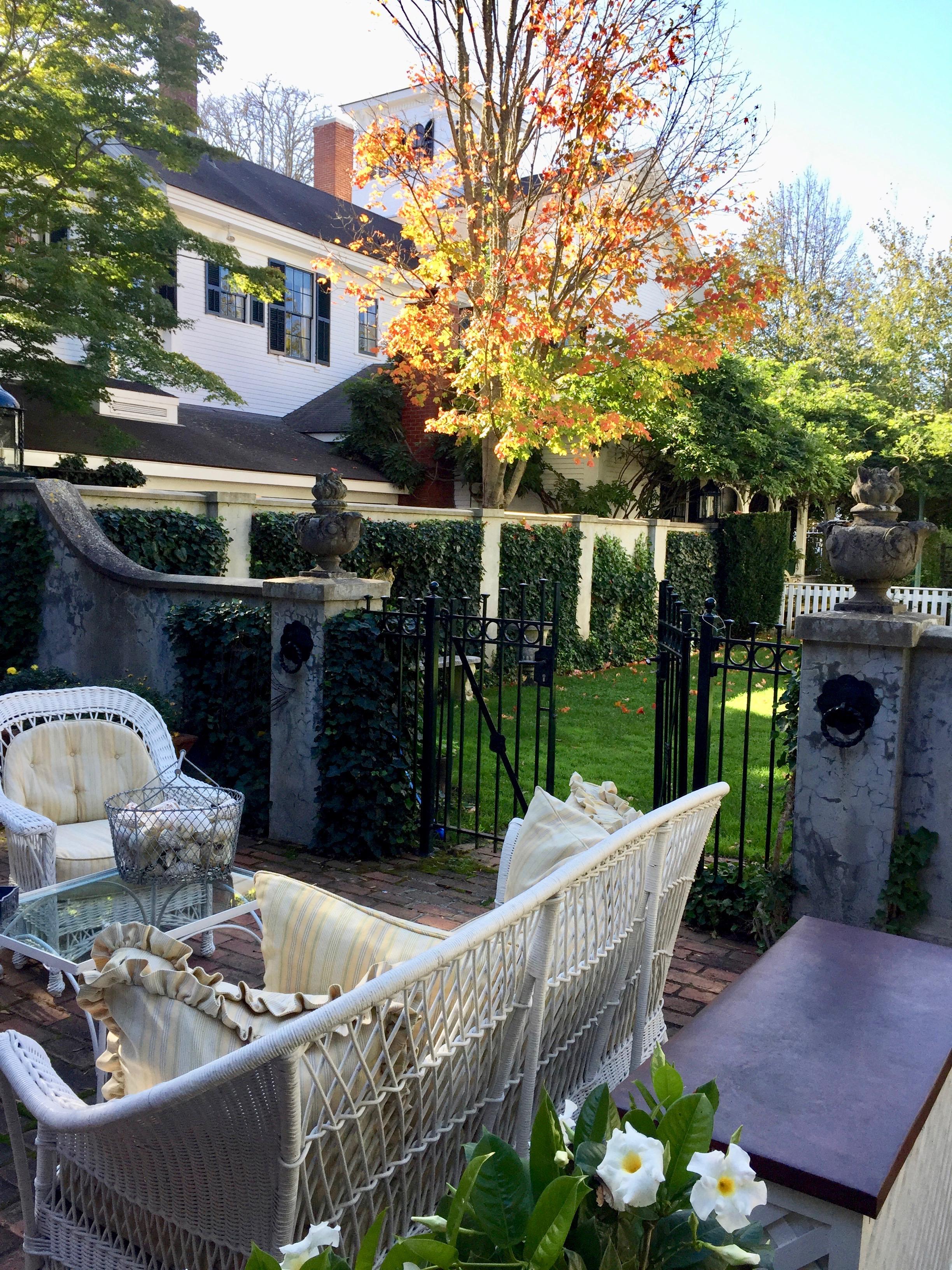 a fall visit to Martha's Vineyard the Charlotte Inn New England Fine Living