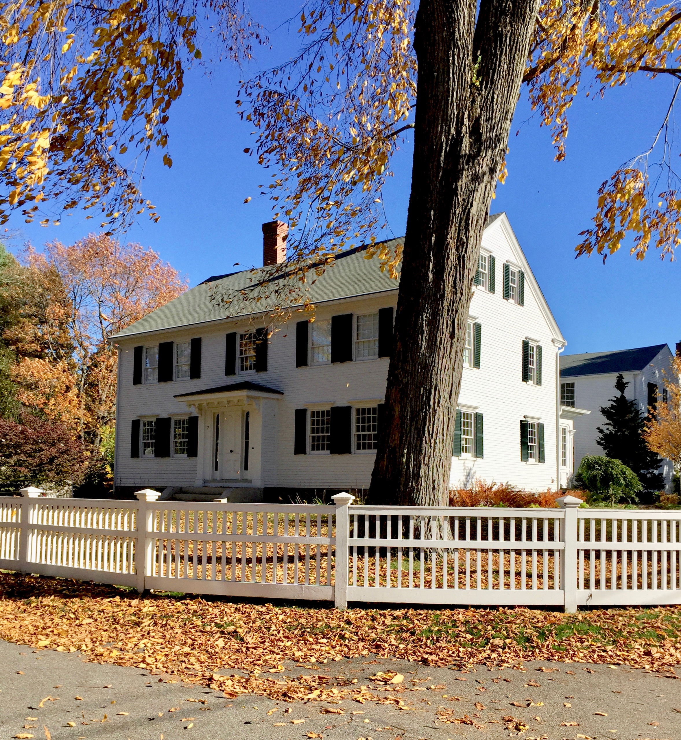 antique white colonial green shutters kennebunkport maine new england style home.jpg