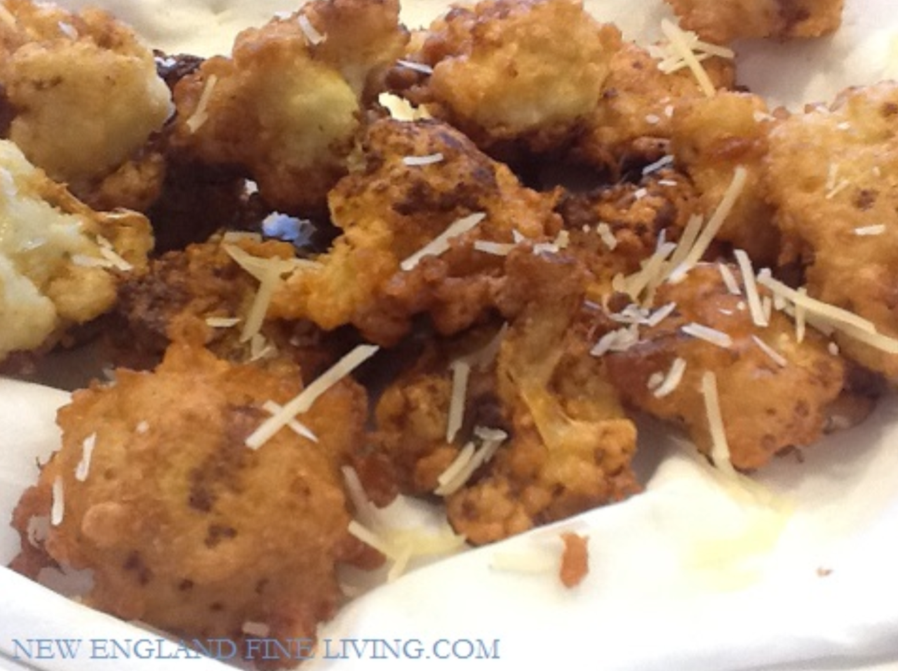 fried buffalo cauliflower recipe