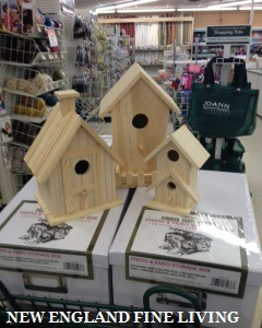 . - Each bird house represent one of their children at the party