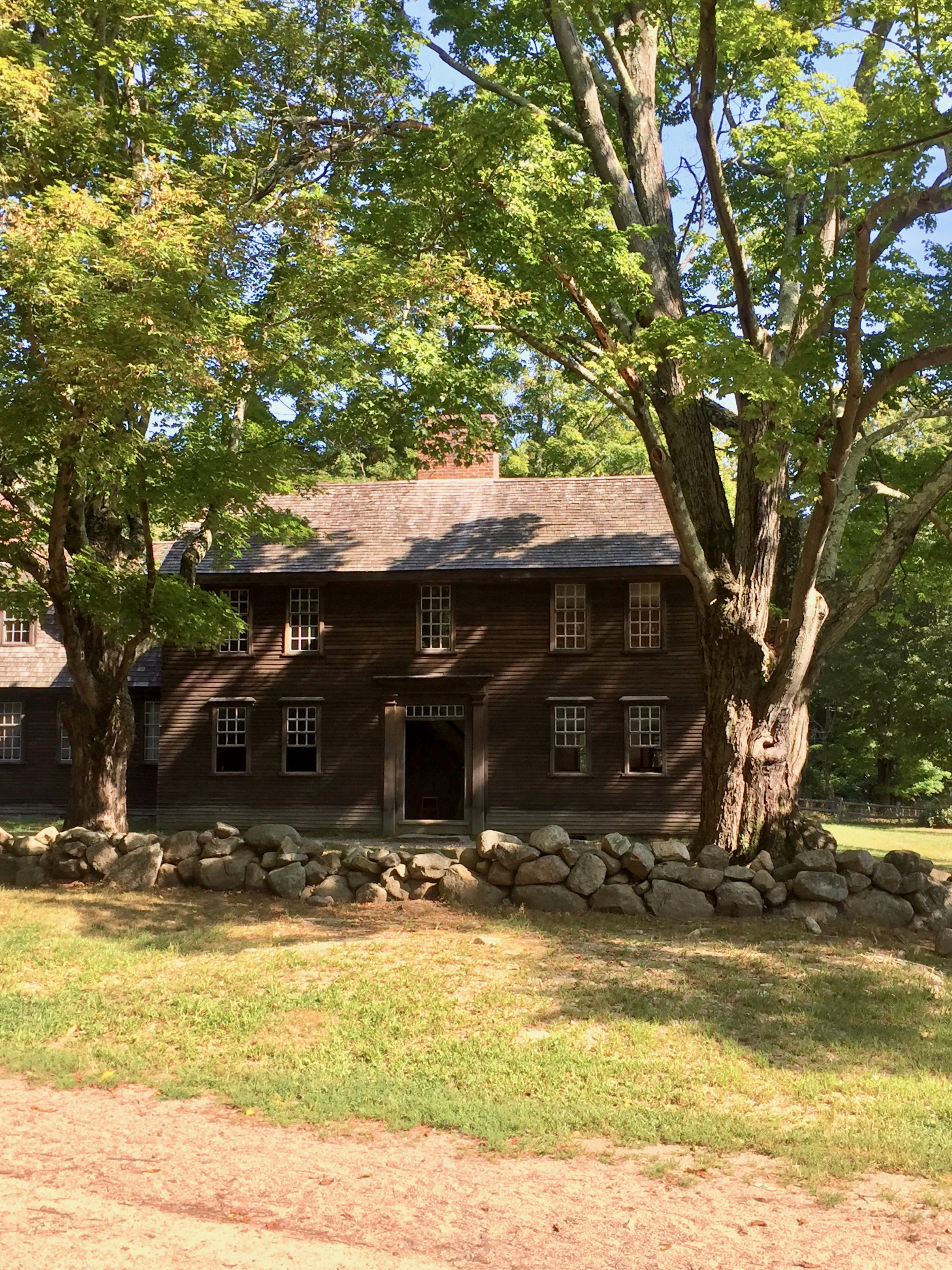 Hartwell Tavern Minute Man National Park New England
