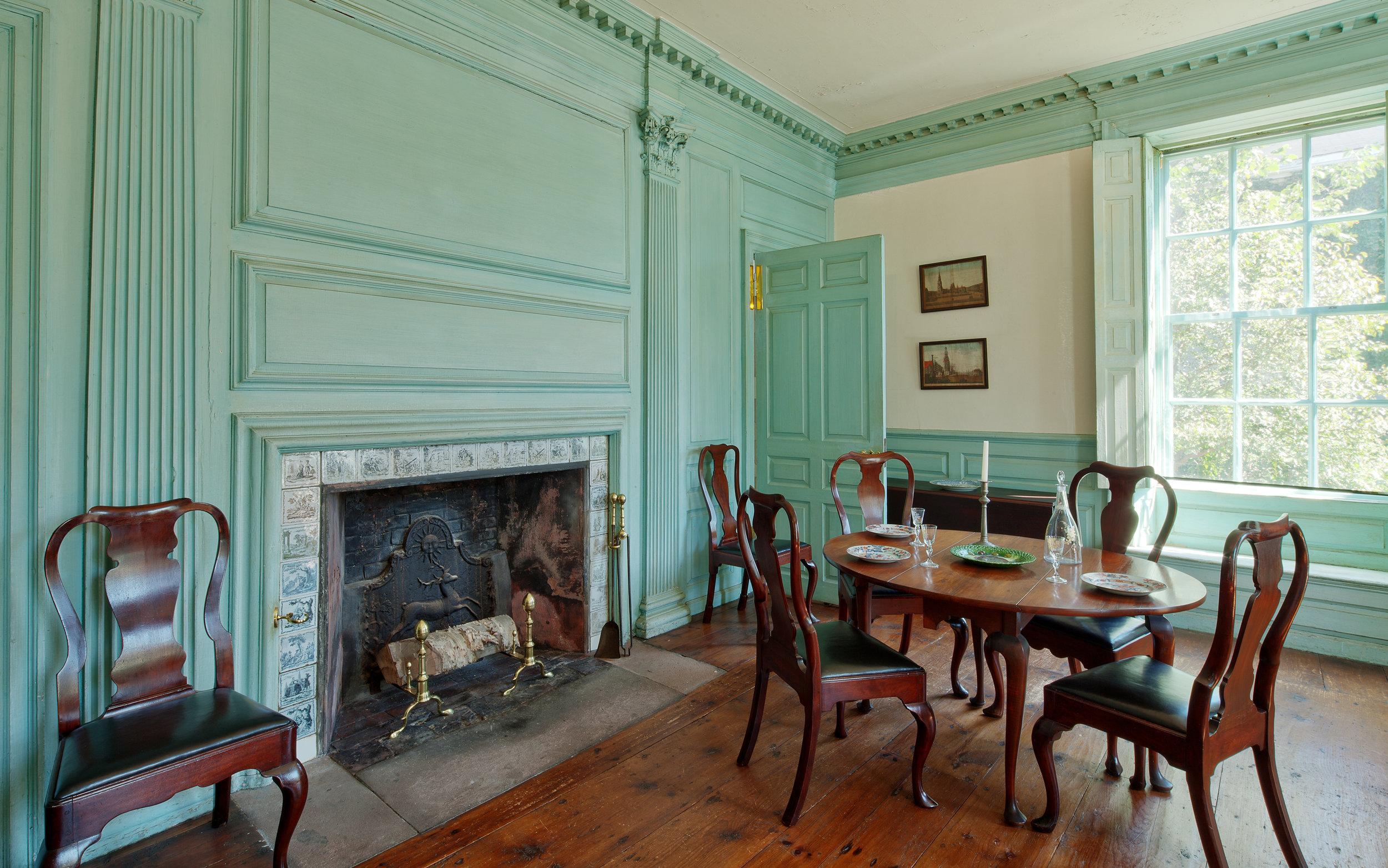 Fireplace Jeremiah Lee Mansion