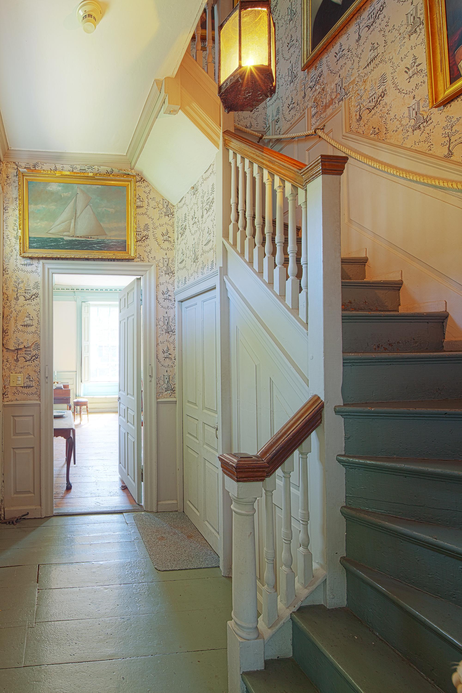 Mansion stairway