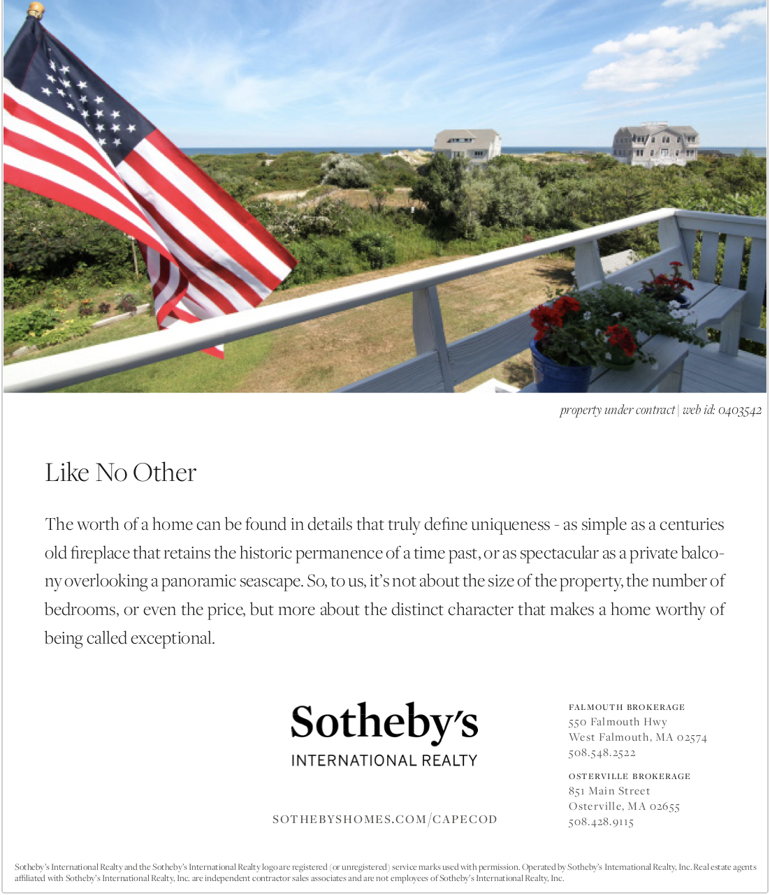 Sothebys Cape Cod New England Luxury Real Estate
