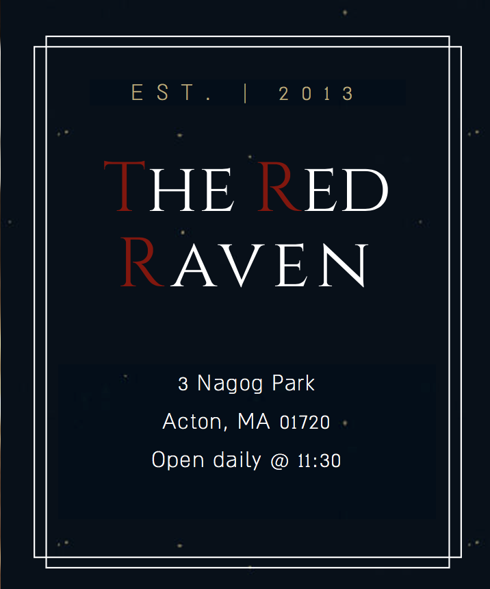 The Red Raven Restaurant Acton MA.png