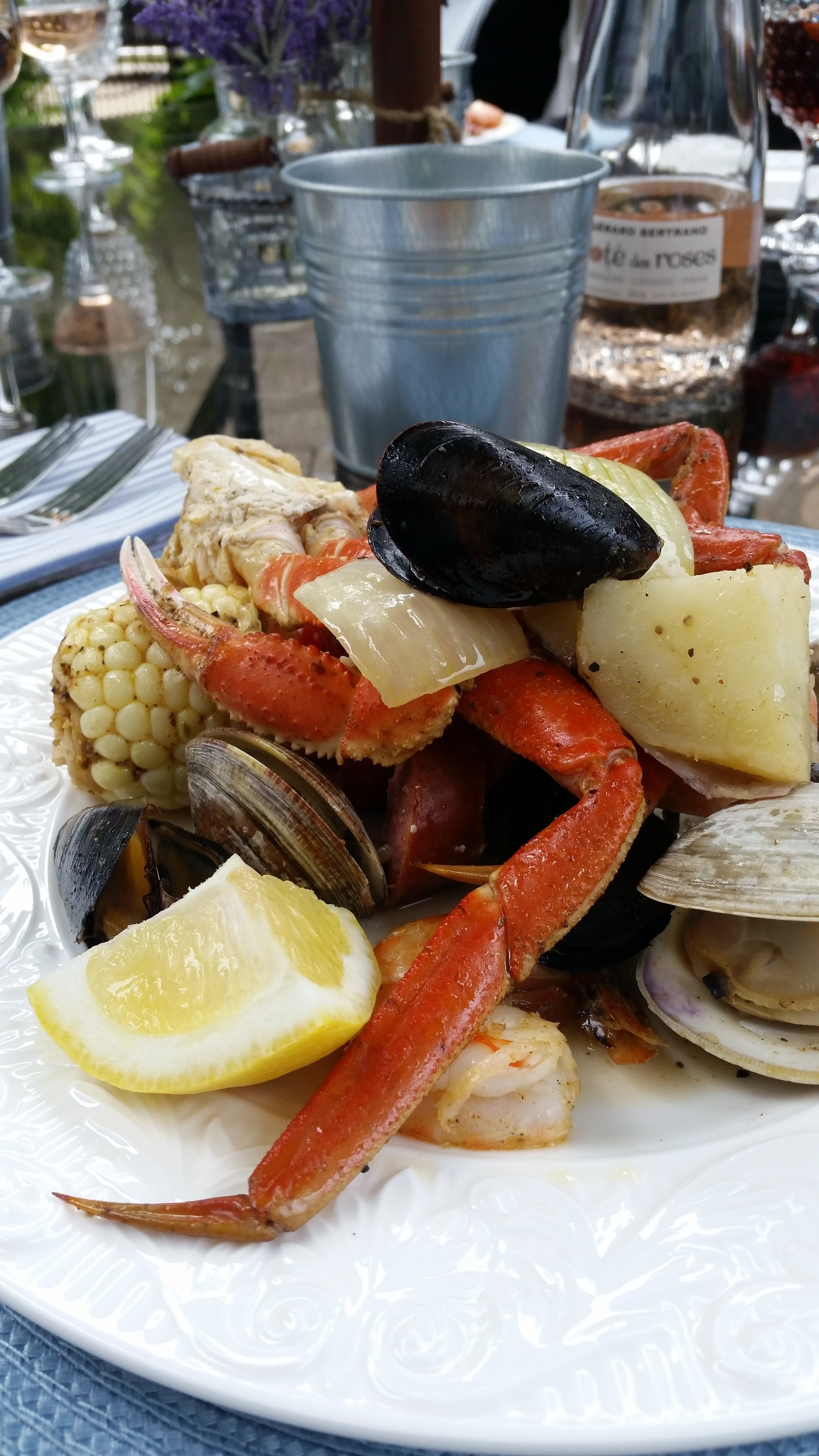 New England seafood boil recipe