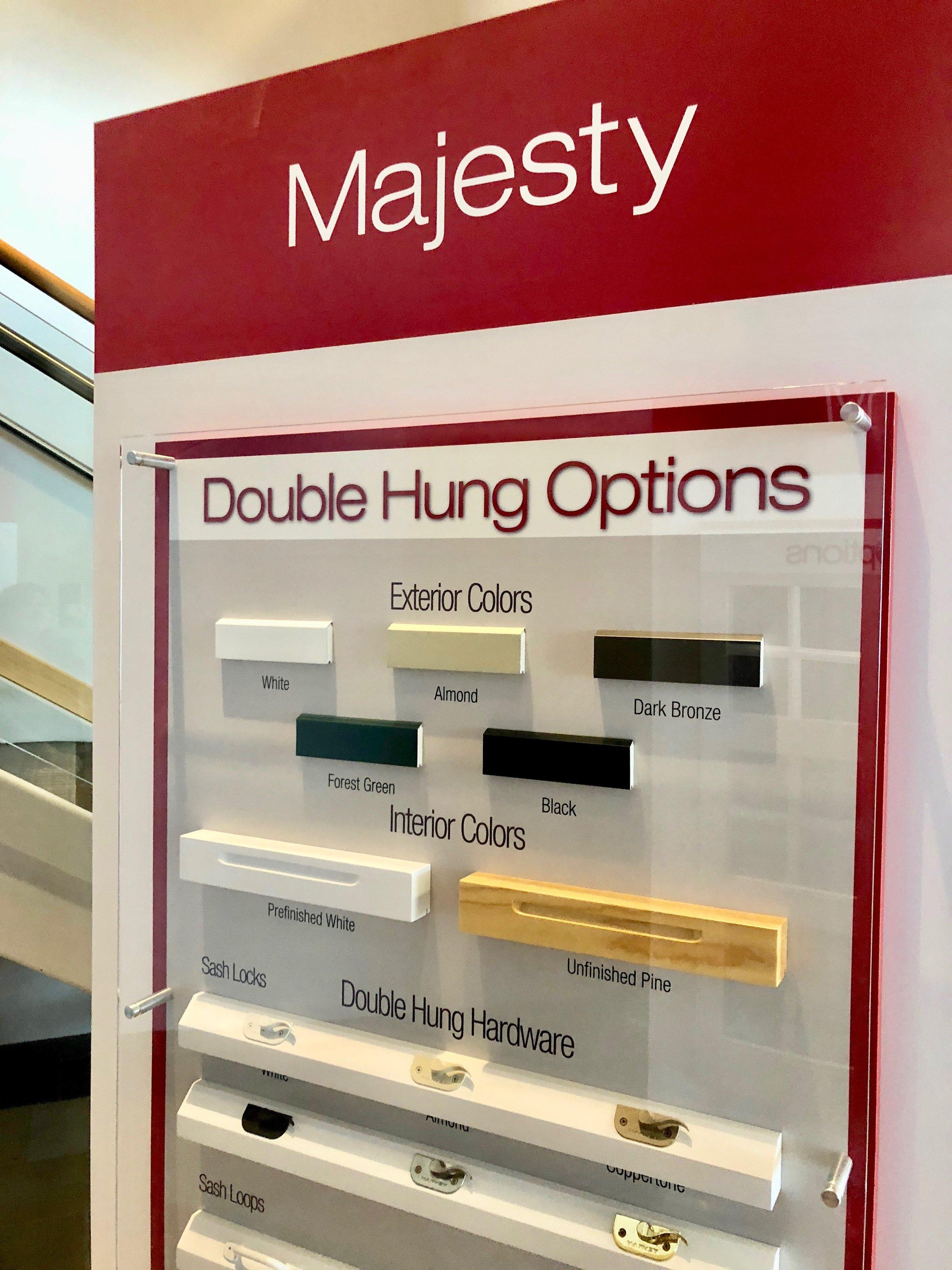 Harvey Majesty Windows
