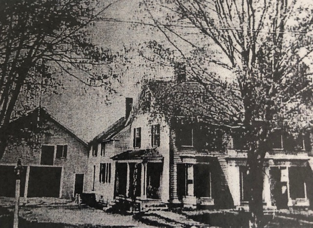 Photo from a 1908 Newspaper article sharing that the home was for sale. This was the article that made me realize a past ancestor, a sixth great uncle, Albert Sargent, lived in our home!