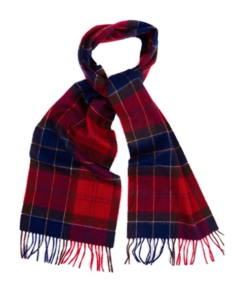 Outdoor and Country, Barbour Tartan Lambswool Scarf, £27.95