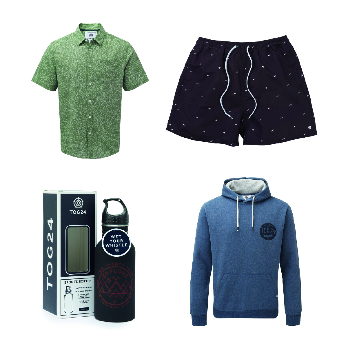 TOG24 - Smart / casual dad? Sporty dad? Laidback dad? Dad-soon-to-be-holiday?Pop into Tog24 for gifts he'll love.