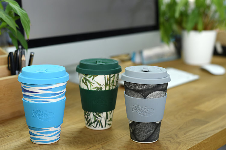 ProCook - Coffee Dad?Make sure your dad has a reusable bamboo coffee cup from ProCook's sustainable Life's a Beach range - perfect for his morning coffee-on-the-go.
