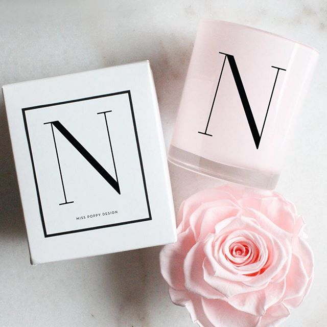 Add an initial candle to one of our gift boxes for the ultimate personalised gift 💕 #personalisedcandles #initialcandle #personalisedgiftbox #minicandles #bridalproposal #melbournebride #personalisedgift