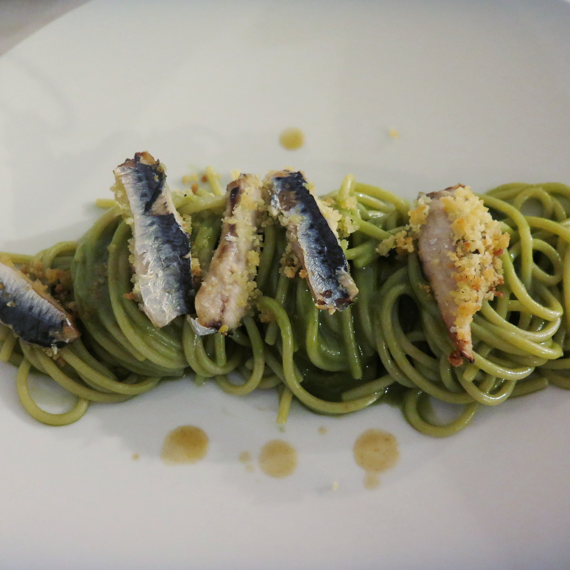 Spaghetti con le sarde, to DIE for