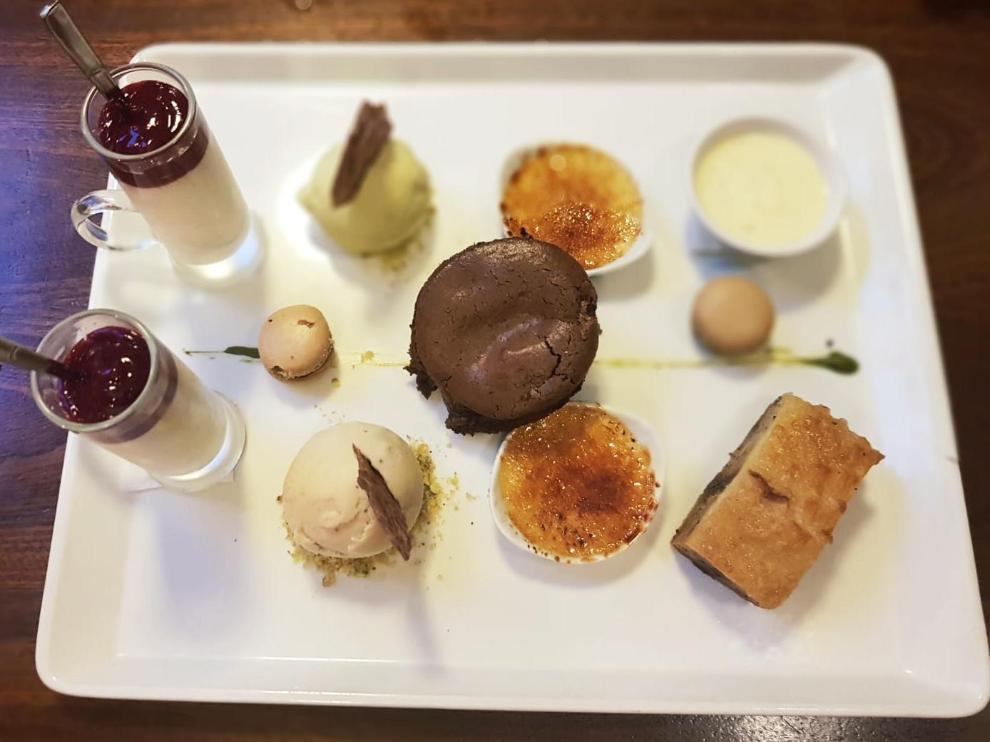 medley dessert