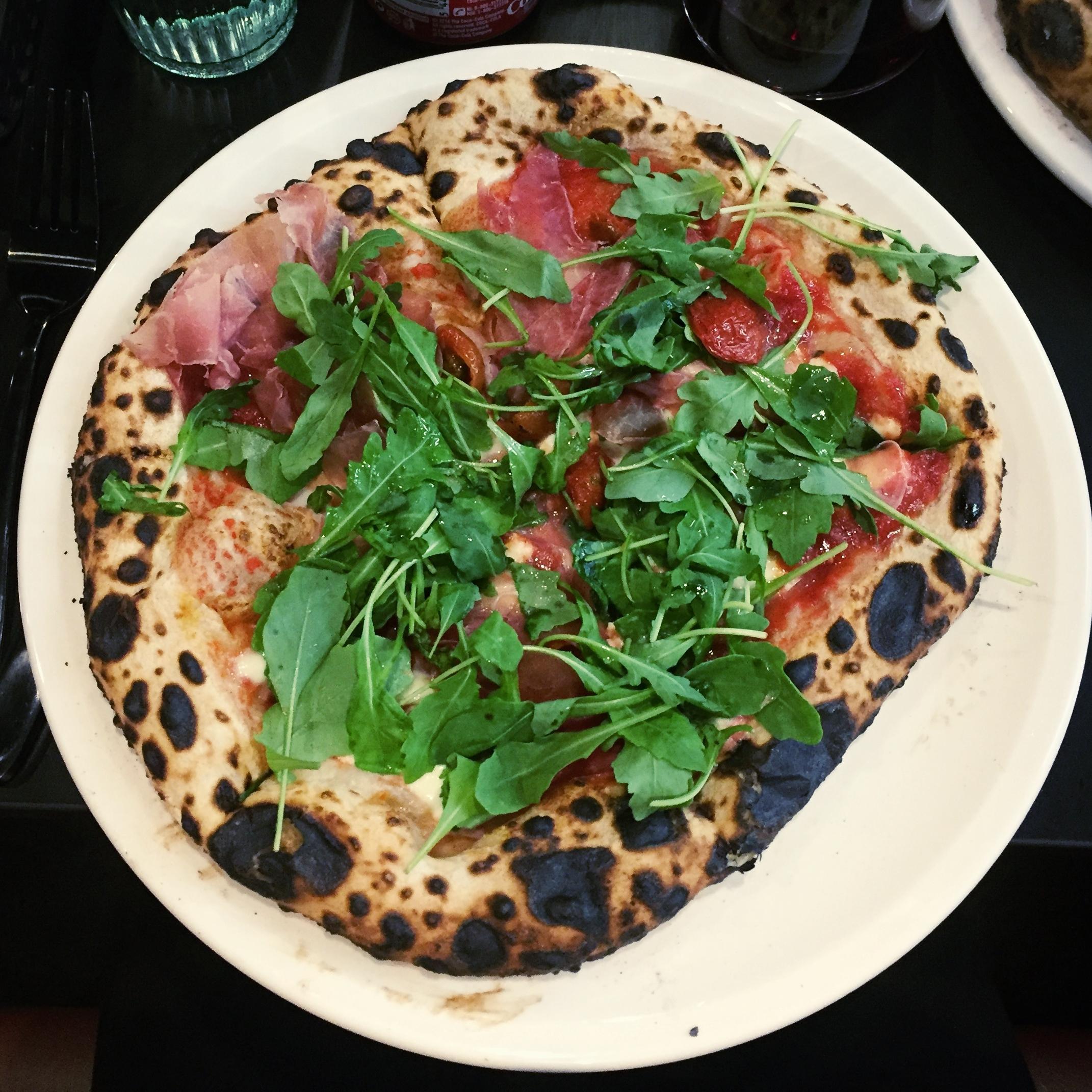 Salumi pizza pi Dublin