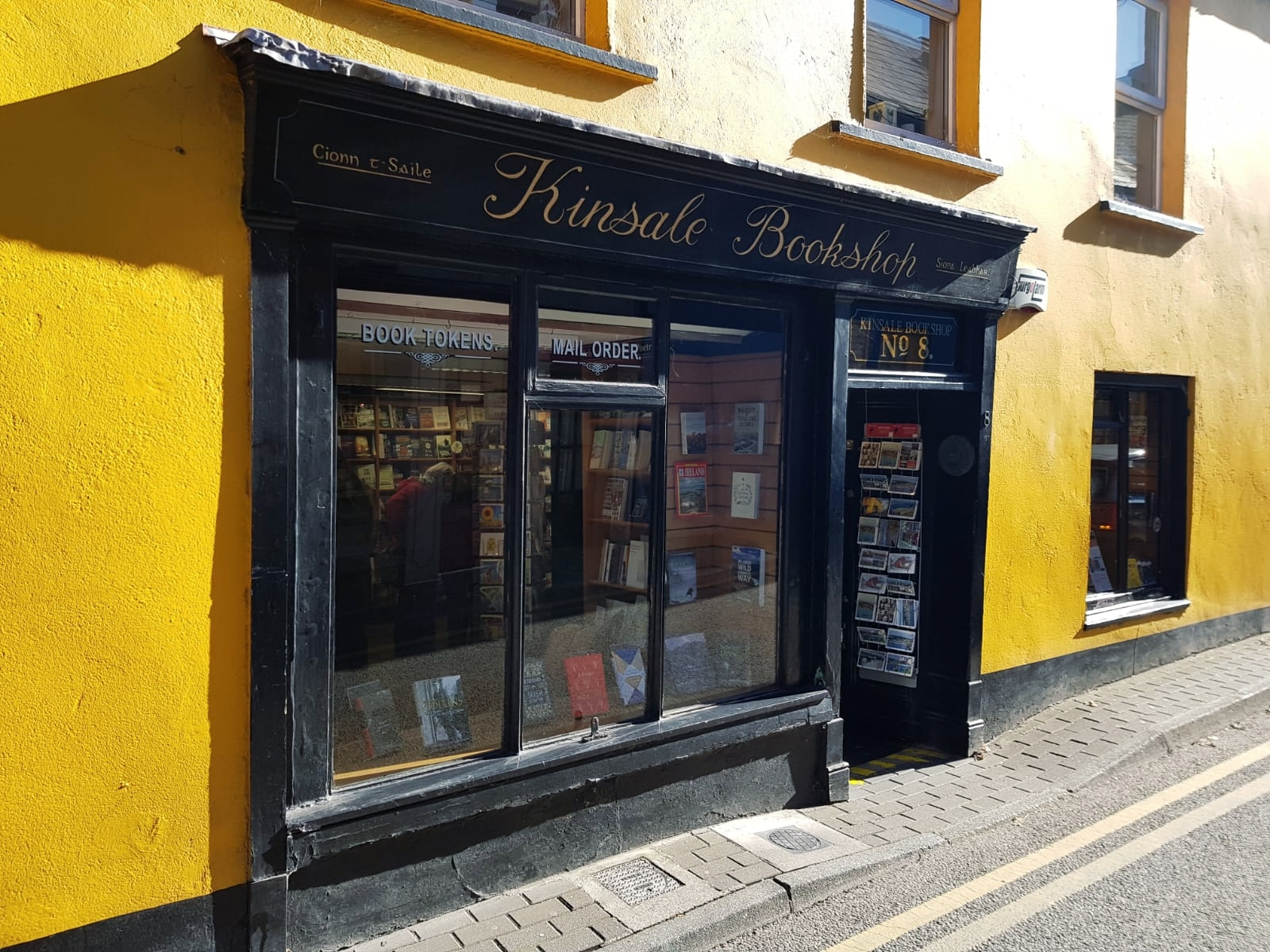 Kinsale bookshop