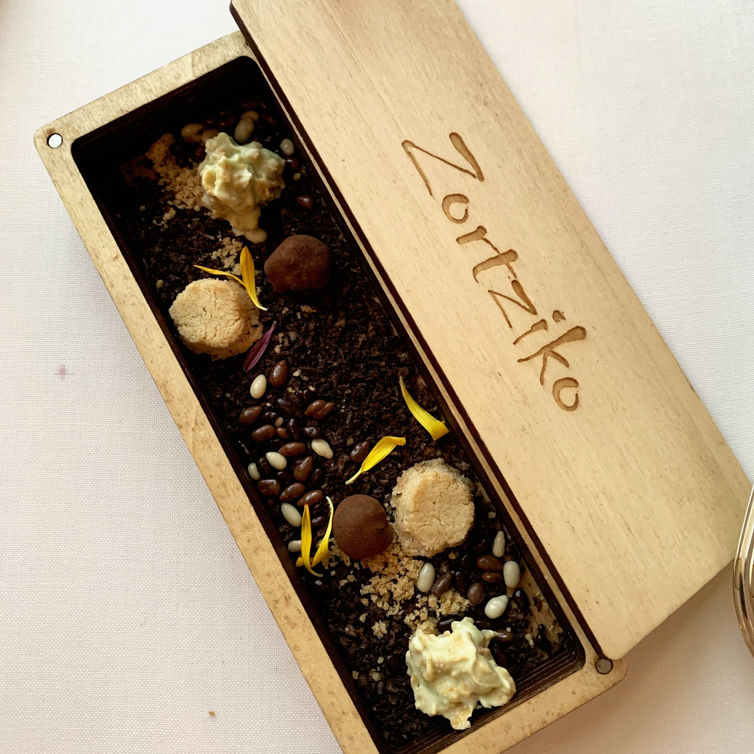 The petits fours box