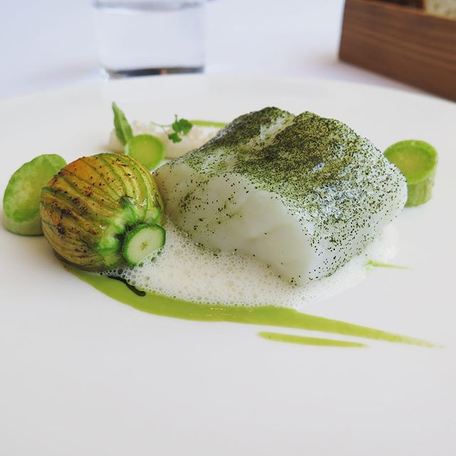 I'm reposting this photo of the most amazing cod I had at @_the_greenhouse about a year ago, because I recently got lucky enough to sit down with @stove28 to talk about his work and favourite food. Go to @foodandwineireland to read the story!