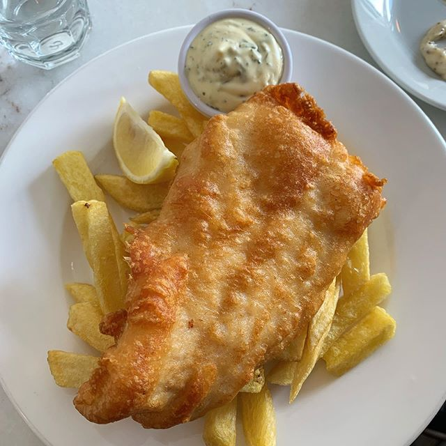 Outrageous fish & chips from @fishshopbenburb - the best I've had in the city since Super Miss Sue closed down. . . . . #fishshop #irishfood #fishandchips #chipper #dublin #fishshopdublin