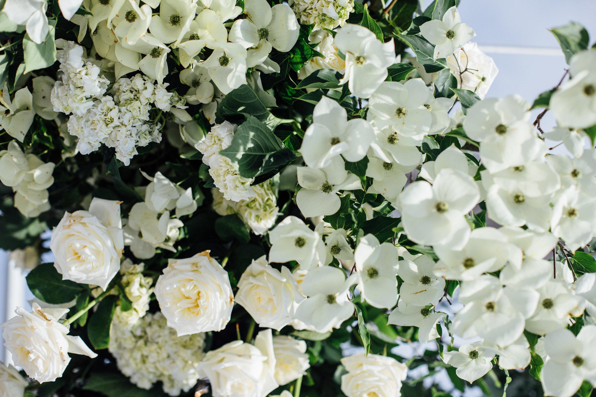 Jess + James Coastal Romance Flowers