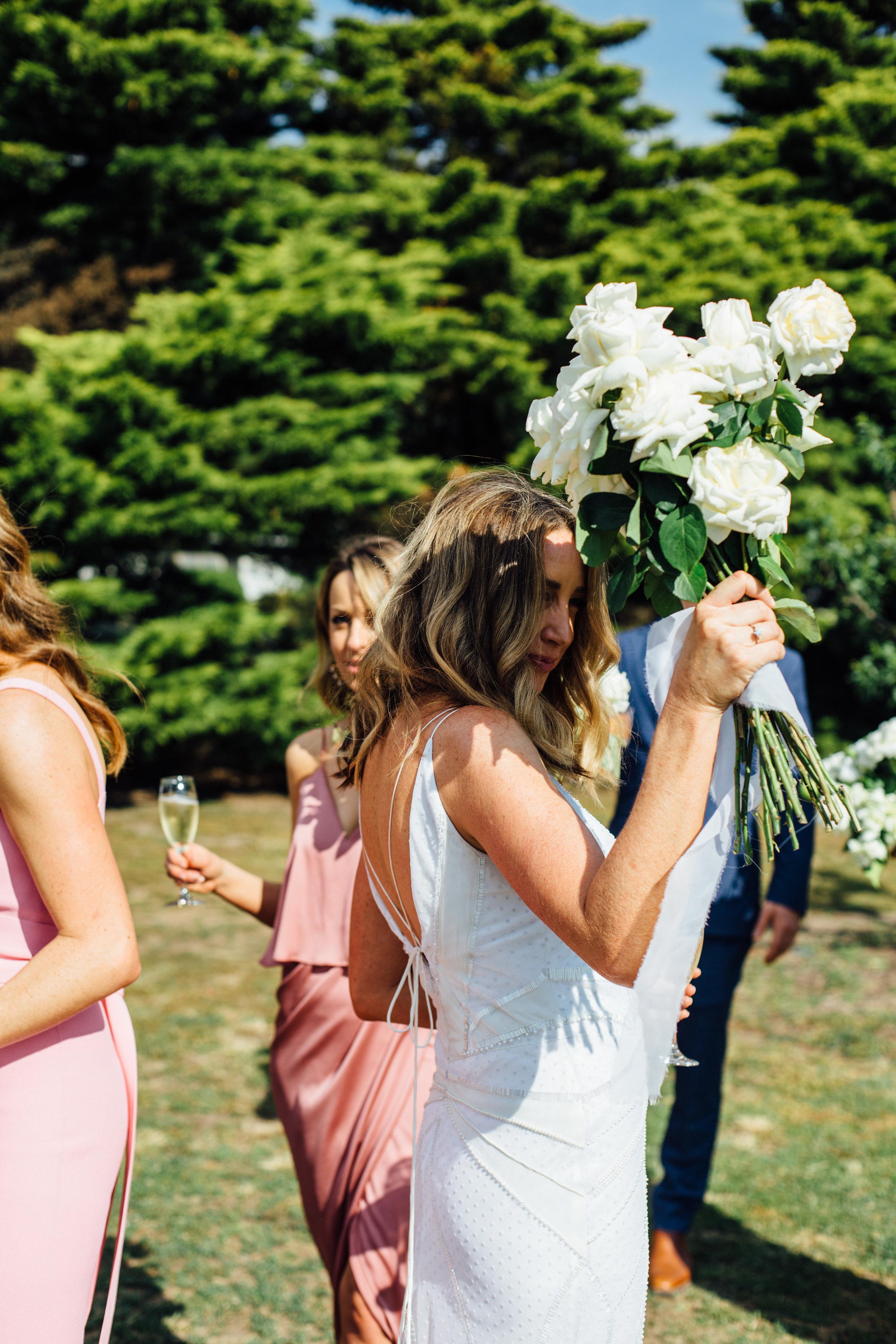 Jess + James Coastal Romance Bridal Bouquet