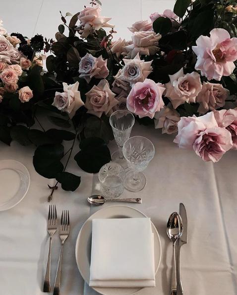 Tamina + Weis Whimsical Garden Tablescape