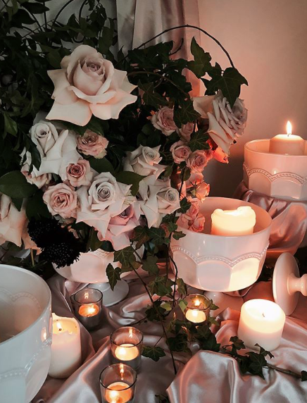 Tamina + Weis Whimsical Trailing Garden Candles