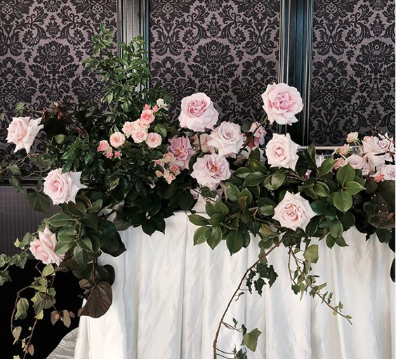 Tamina + Weis Whimsical Garden Trailing Flowers Backdrop