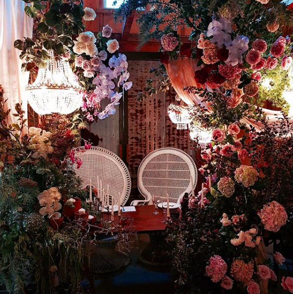 Amelia + Jono Werribee Wedding Secret Garden