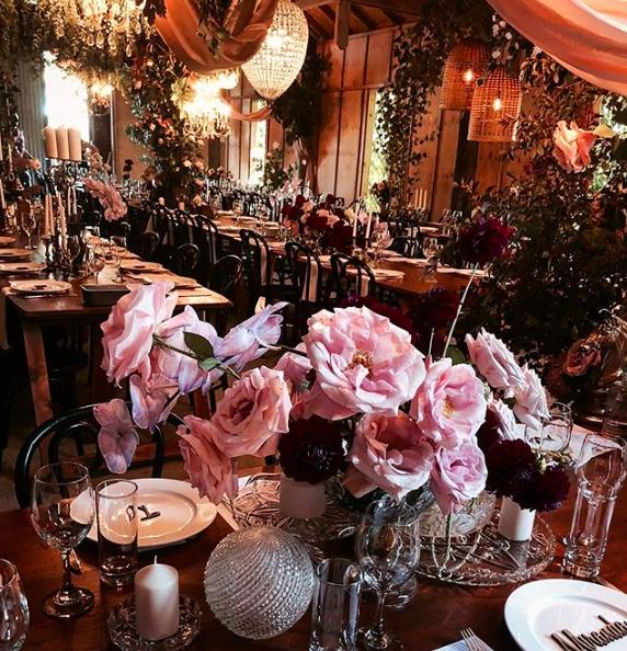Amelia + Jono Secret Garden Wedding Merribee Tablescape