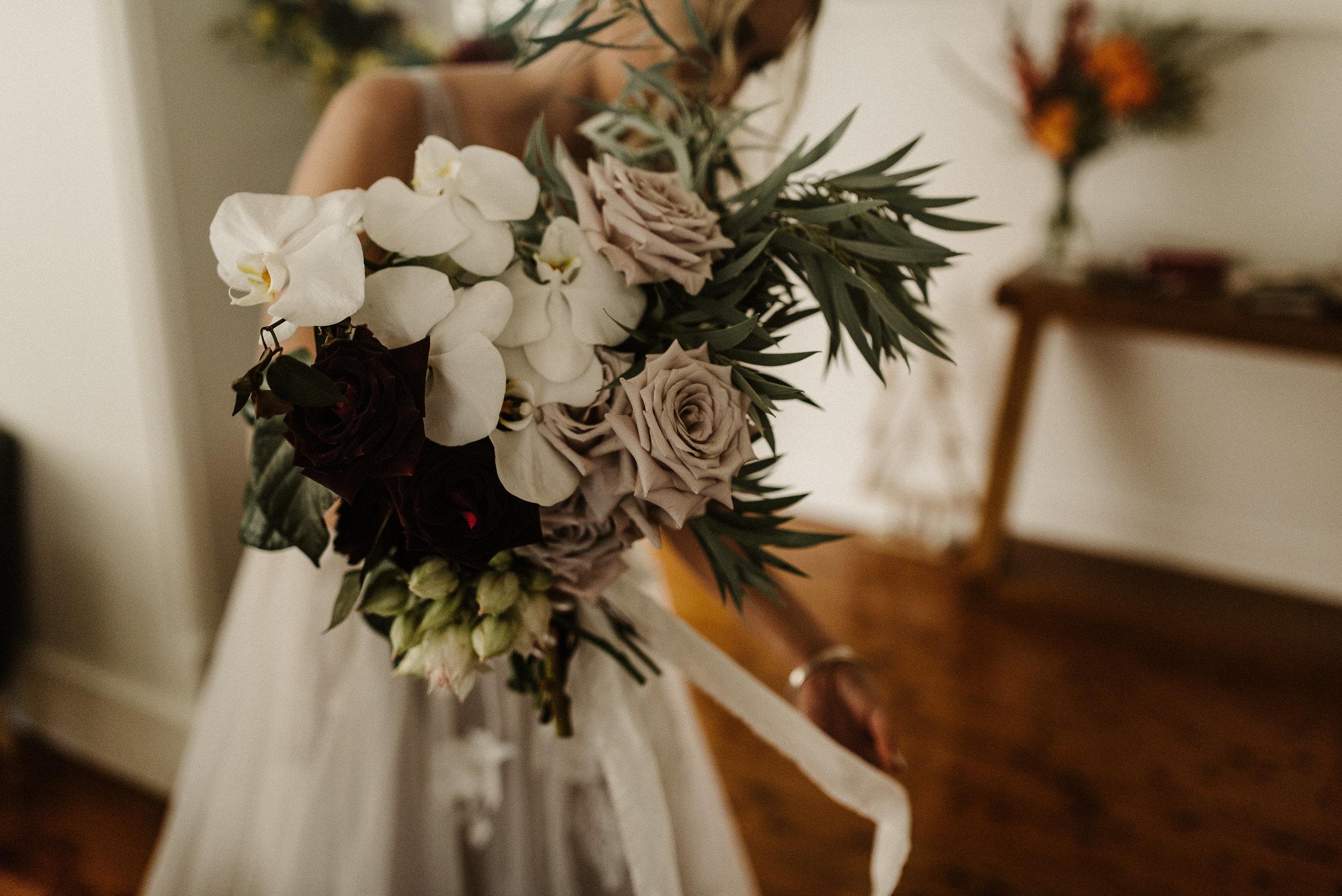 Tess + Greg Native Bohemian Luxe Bouquet