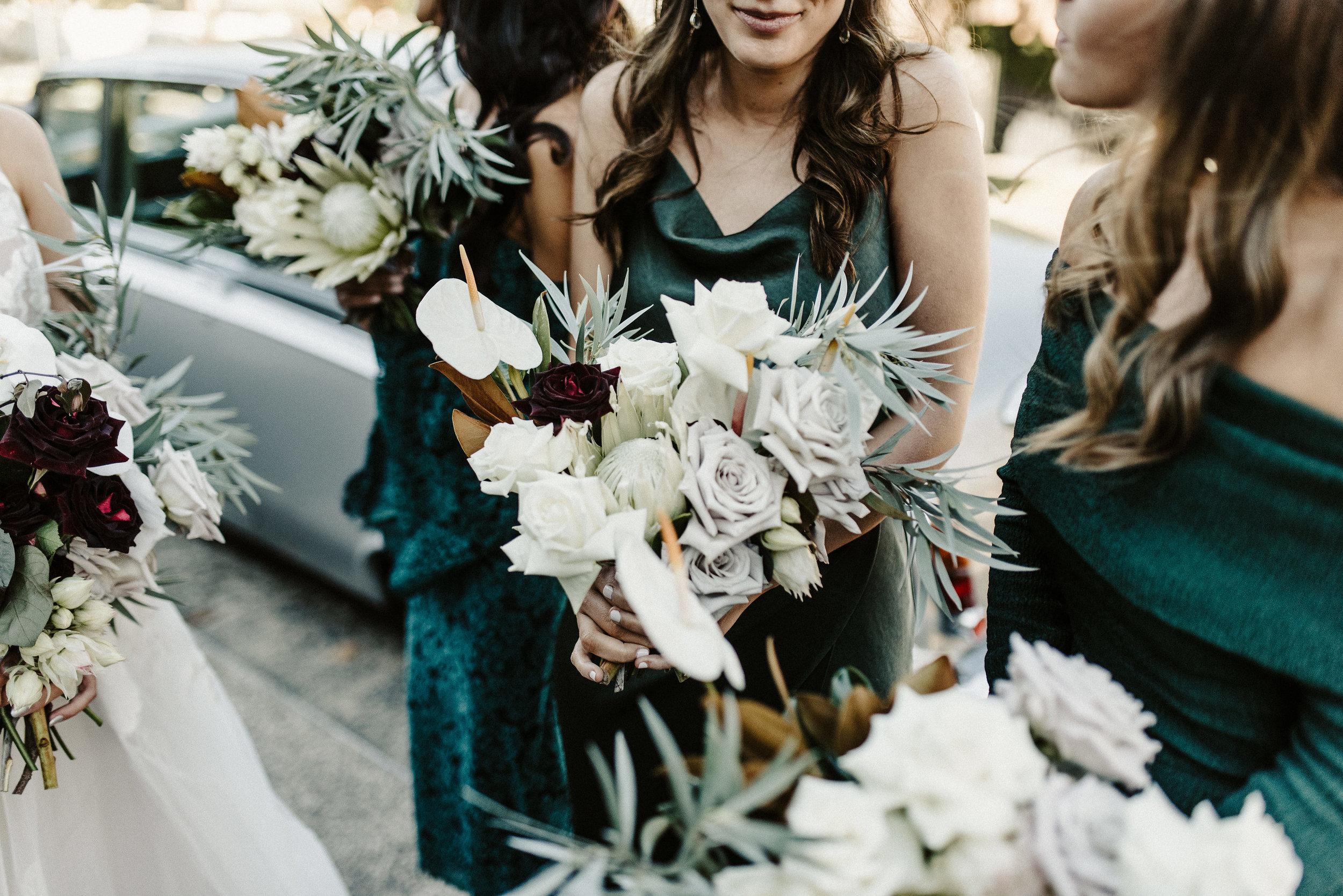 Tess + Greg Bouquet native luxe