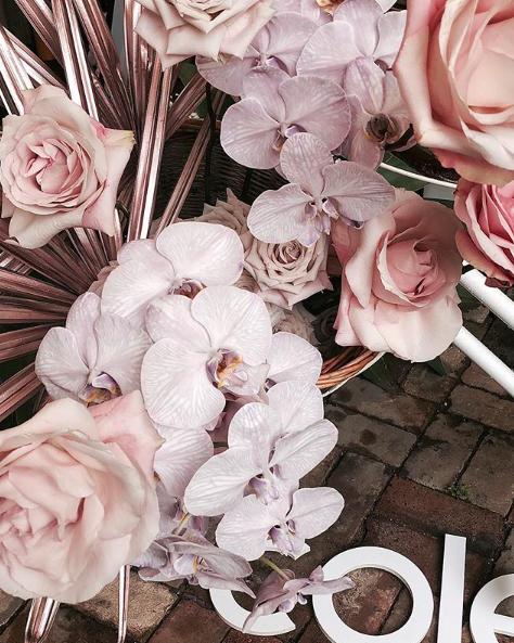 Colette by Collette hayman press day bohemian blooms arrangements