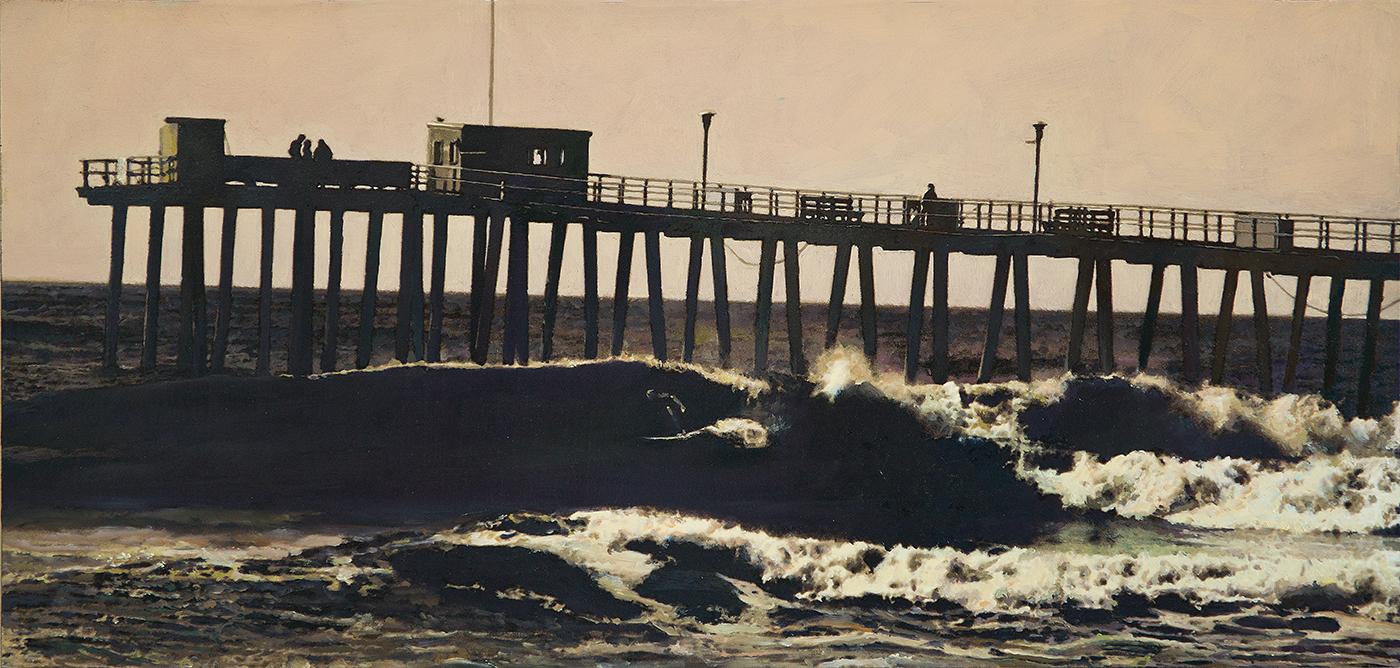 Surfs Up Ventnor Pier