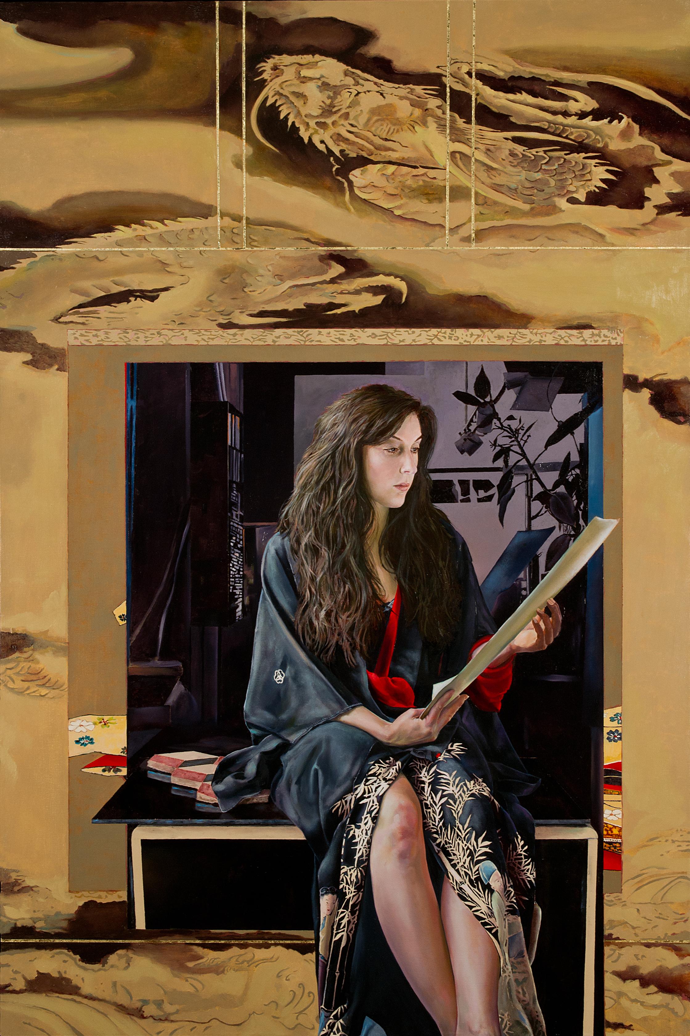 The Poet: Amagoi Komachi (Rain – asking Komachi)