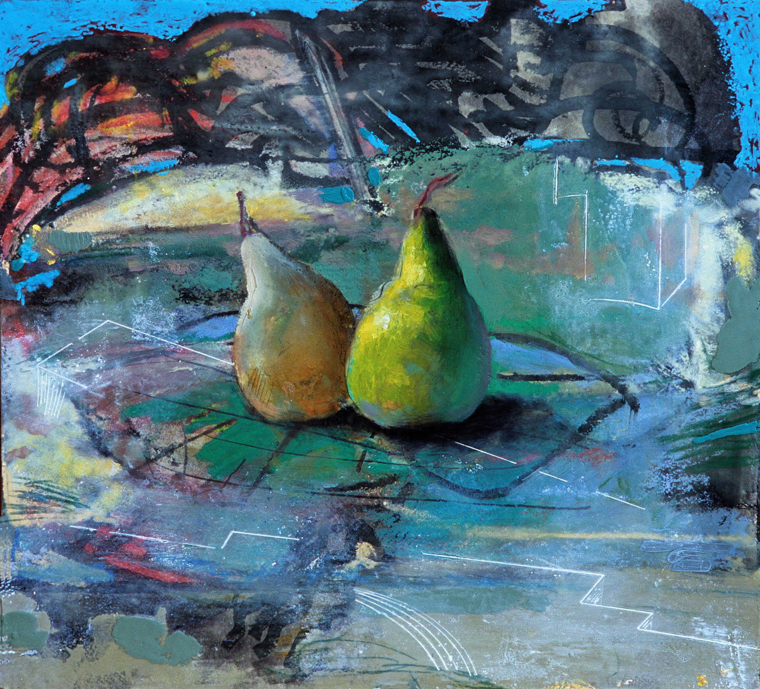 Two Pears on a Dance Floor