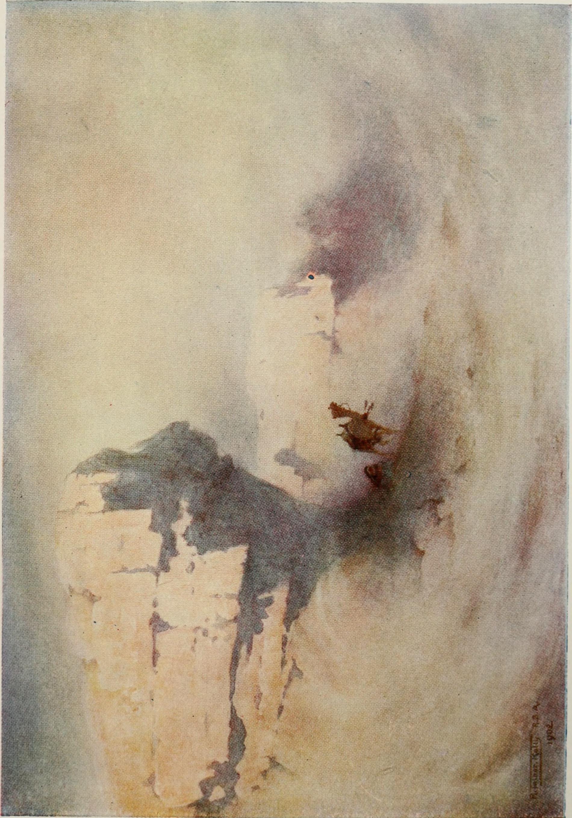 """Illustrasjon: """"Egypt painted and described""""(Flickr Commons)"""