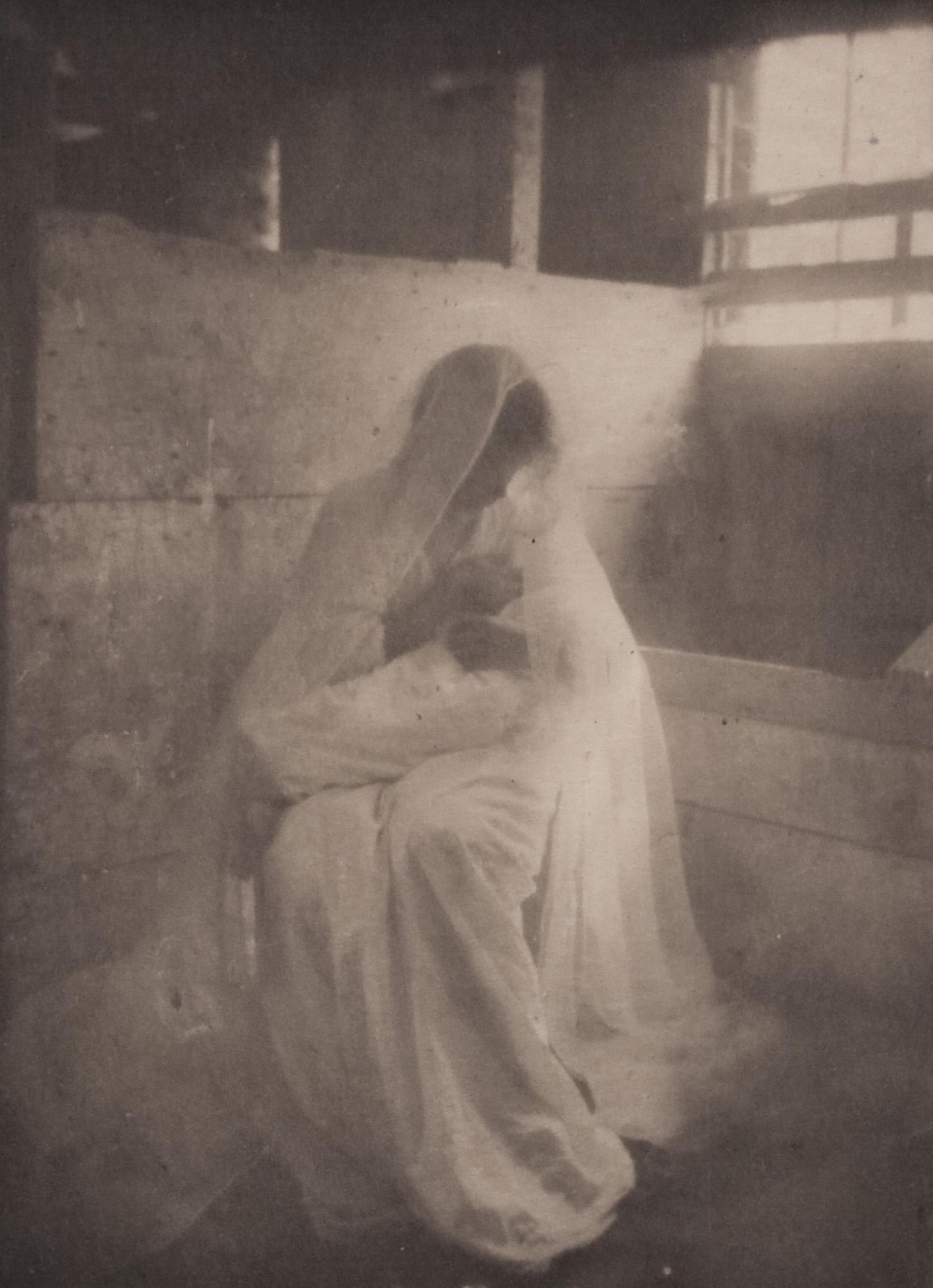 "Foto: ""The Manger"" (1902)av Gertrude Kasebier"