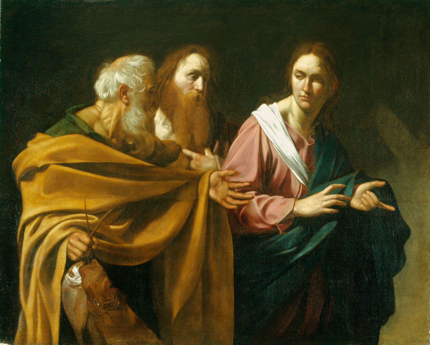 The Calling of Saints Peter and Andrew c. 1602-4. Oil on canvas.