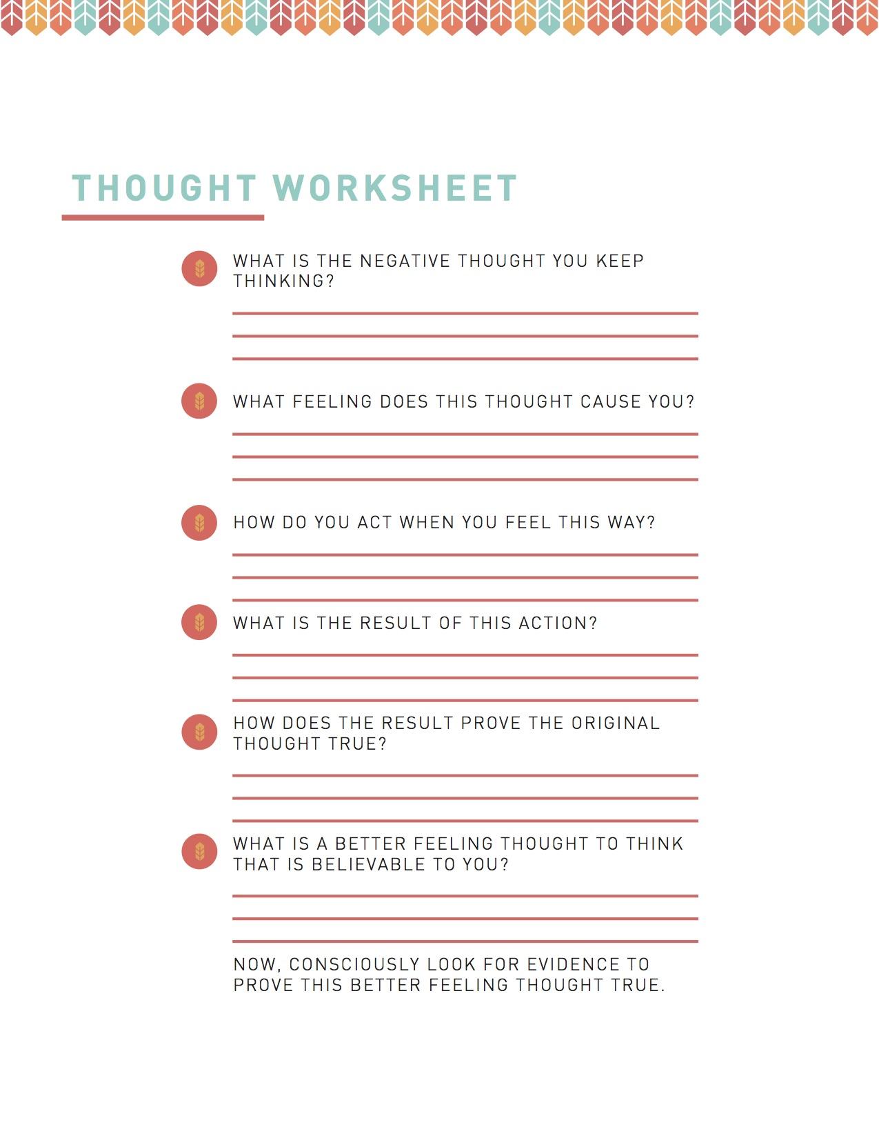 Pop-Up worksheet