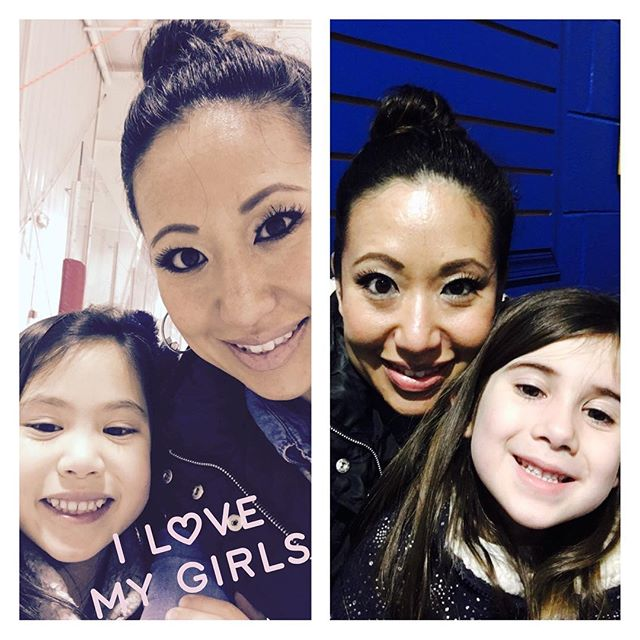 Family Fun ice skating! #mommydaughter #myworld #love #mygirls
