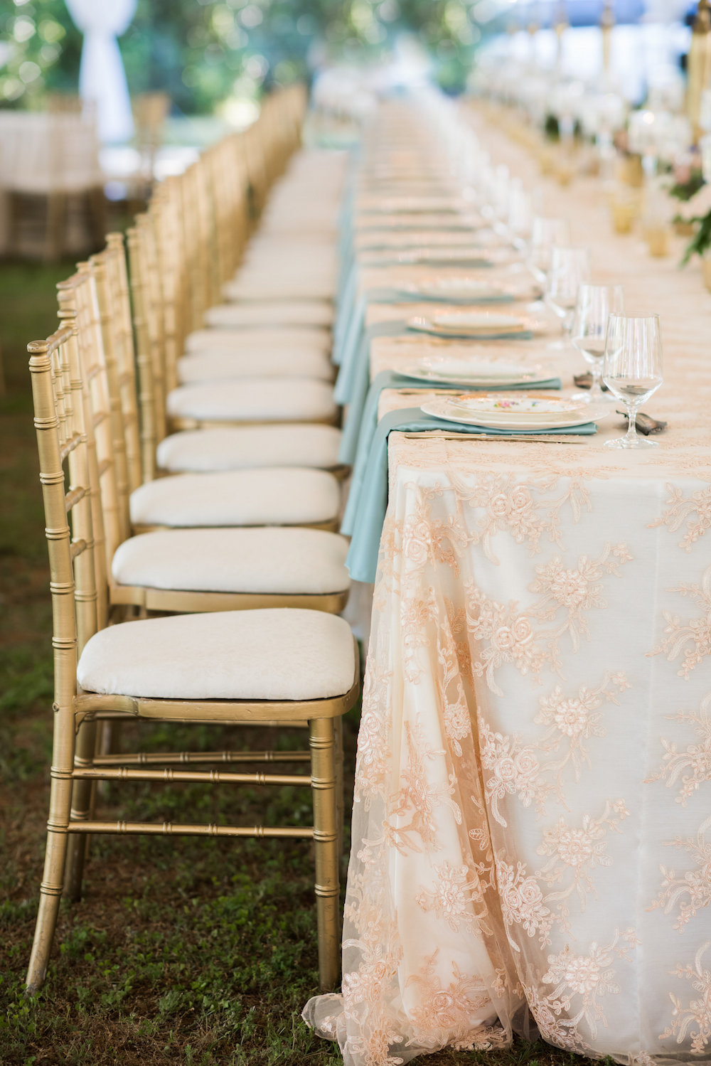 Head Table ivory dupioni with champagne laylani lace overlay8.jpg