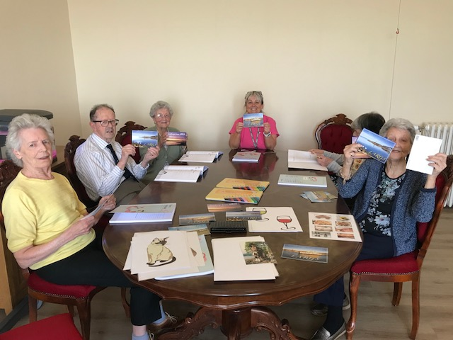 Postcards from Largs. French, Hutton Park Care Home, Largs