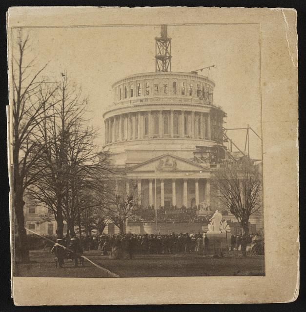 US Capitol, 1861